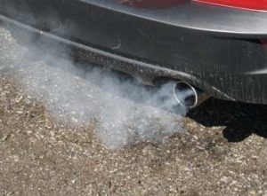 White Smoke from Exhaust